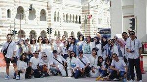 Clozette Indonesia Squad 💜💛..#ClozetteID #ClozetteKLilingKL #mytripmyadventure #paskriba2018 #ClozetteJalanJalan #ehantrip9