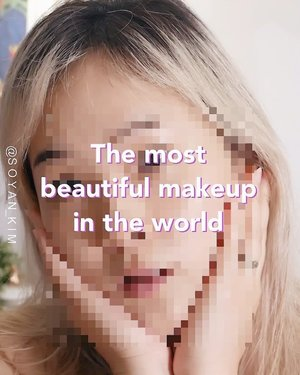 "Hello guys👋🏼I just do #motivationalmakeup ""The most beautiful makeup in the world""Previously i compared with another girls who are prettier or good looking more than me but i just changed my mind ""I do me, she does her"" we all are beautiful and precious in a different way⭐️And the most important is not only makeup on outer beauty, we should more care of inner beauty too💫-1 samuel 16:77 But the Lord said to Samuel, ""Do not consider his appearance or his height, for I have rejected him. The Lord does not look at the things people look at. People look at the outward appearance, but the Lord looks at the heart.""-삼상 16:77 여호와께서 사무엘에게 이르시되 그 용모와 신장을 보지 말라 내가 이미 그를 버렸노라 나의 보는 것은 사람과 같지 아니하니 사람은 외모를 보거니와 나 여호와는 중심을 보느니라-I know it's not easy to stop comparing but let's put it in our heart first guys❤️-Ps. I just want to share this #motivationalmakeup for those who have low self esteem.💜💜💜💜💜💜💜💜"