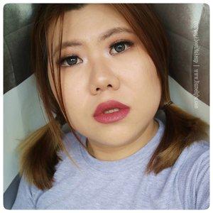 @makeoverid #IntenseMatteLipCream #NudeAttitude shade 009 Posh. Review-nya udh ada di www.liamelqha.com atau cari bit.ly/Lia-MakeOverNew. *** #blog #liamelqhadotcom #JourneyAboutMakeup #blogging #blogger #bloggingmom #BloggerPerempuan #Beautiesquad #KEB #KumpulanEmakBlogger #ClozetteID #IndonesiaFemaleBlogger #SociollaBlogger #KBBVmember #batambeautyblogger #batamblogger #indonesiabeautyblogger #beautybloggerindonesia #review #tips #tutorial #beautyjunkie #beautyenthusiast #makeupjunkie #makeupenthusiast