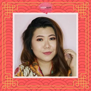 And this is mine. For details and tutorial, go and check bit.ly/JAM-CNY2018 or click link on bio. 😊 #beautiesquad #BSFebCollab #BSCollab #CNYMakeup #ChineseNewYear #JourneyAboutMakeup #liamelqhadotcom #ClozetteID