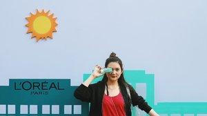 Minggu produktif CFD-an bareng @getthelookid dan @beautyjournal! Seru banget, ada outdoor poundfit bareng juga. Tapi kita gak takut sama paparan sinar matahari karena kita semua sudah pakai L'Oreal Matte & Fresh Sunscreen. Super lightweight dan cepat meresap di kulit. SPFnya 50 loh, jadi aktivitas di luar ruangan siapa takut 😆✨Sunscreen favorit L'Oreal ini bisa kalian beli di Sociolla ❤️#sunnymate #beautyjournal #sociollablogger.....#clozetteid #ootd #ootdindo #lookbook #lookbookindonesia #lifestyleblogger #fashion #blogger #fashionblogger #wiwt #potd #vscocam #eosm10 #lovelife #instagood #streetstyle #potd #eosmdiaries #ggrep #ggrepstyle #cgstreetstyle #streetfashion #setterspace
