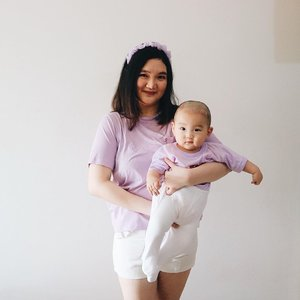 Still in the mood of #Lilac and this is my kind of couple outfit 👶🏻You may see it often from now on 👶🏻......#clozetteid #ootd #ootdindo #lookbook #lookbookindonesia #lifestyleblogger #fashion #blogger #fashionblogger #wiwt #potd #vscocam #eosm10 #lovelife #instagood #streetstyle #potd #eosmdiaries #ggrep #ggrepstyle #cgstreetstyle #streetfashion #setterspace