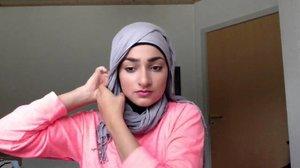 Tutorial Daily Hijab Untuk Wajah Lonjong Persegi By Shafirasyahnaz