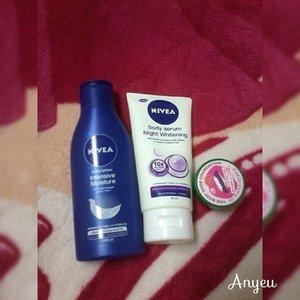 Memerangi kekeringan kulit di malam hari 😄#nivea #niveamoisture #clozetteid #clozettegirl