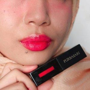 Lip tint rasa glasur donat!#Purbasari #liptint #localbeauty #beautiesquad #clozetteid