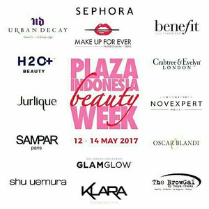 hai.. do u guys have plan this weekend? let's come to @plaza_indonesia BEAUTY WEEK from 12-14 May 2017 and get many promos there 😉❤ this event supported by @sephoraidn 💋💋💋 . #PIBeautyWeek #sephoraidn #sephoraidnbeautyinfluencer