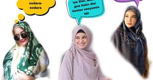 3 Gaya Hijab Menutupi Dada Ala Seleb Yang Bisa Jadi Inspirasi