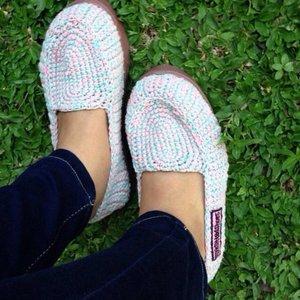Cinta produk INDONESIA sepatu RAJUT #OOTD #SHOESLOVER