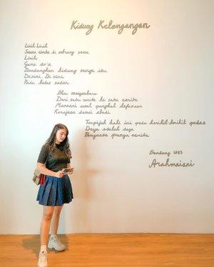 @museummacan first timer. I had a good time☺️🏢| 🤳🏻📸: @rirakimm..#clozetteid #museum #museummacan #museummacanjakarta #arahmaiani #leemingwei