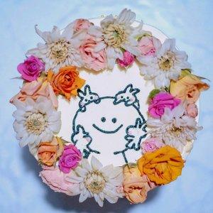 Loving my cake so much & also the taste😋 Thank you @cremejkt 🎂💖..#clozetteid #cake #cakedecorating #decor #cakedecor #akirambow #freshflowers #spoiledrabbit #japancake
