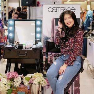 #throwback Thanks for having me, @catrice.cosmetics @farazenia 🤗🙏🏼💕 . . #catricecosmetics #catrice #makeup #makeupclass #makeupclassjakarta #clozetteid