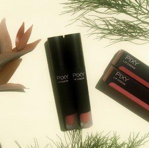 I love the Pixy Lip Cream new packaging, keliatan mewah, elegant, ga nyangka kalau ini merk Indonesia si ✨✨ suka banget sama brand yang selalu memperbaharui produknya, GoodJob Pixy ✨ semoga bisa ngeluarin produk-produk yang bagus lagi dan selalu berinovasi. #ClozetteID #PIXYcosmetics #Lipcream