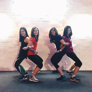 Yesterday at #ntctourjkt with my girls 💪🏻 spent my saturday right in healthy way 🤓 #BetterForIt #clozetteid #nikewomen