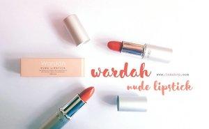 NEW BLOG POST on www.indahrp.com ***** Review: Wardah Nude Lipstick - 04 & 05 (link on profile) ***** #IndahRPblog #indahrpdotcom #ihblogger #indonesianhijabblogger #hijabblogger  #makeup #lipstick #lipstickreview #wardahnudelipstick #wardahlipstick  #wardahbeauty #ClozetteID