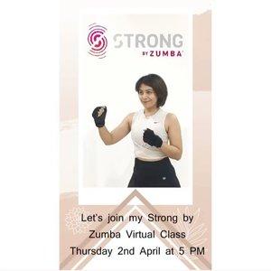 Hi all kita kembali ke #behealthywithmelgib yukBesok aku mau buka kelas SBZ secara virtual(via zoom app) , cewe cowo bisa ikutan karena ini kelas HIIT training. Chat me via DM for further information 😘#sync #strongbyzumba #sbz #hiit #clozetteid #synccommunity #strongbyzumba™ #strongbyzumbainstructor