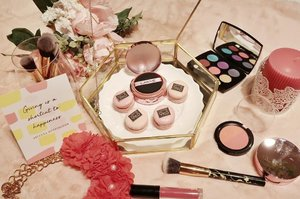 How beautifull it is 😘Let me present my blushing macaron with @lakmemakeup ☺� Never worries my make up bcz Lakme 9to5 is here.#CewekSerbaBisa & #CushionSerbaBisa #clozetteid