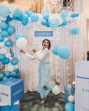 Had a great time with @laneigeid & @clozetteid yesterday on Laneige Cream Skin Refiner Launching ❤️❤️❤️ #mc #masterofceremony #beautyevent #laneige #creamskinrefiner #clozetteid #clozetteidxlaneige