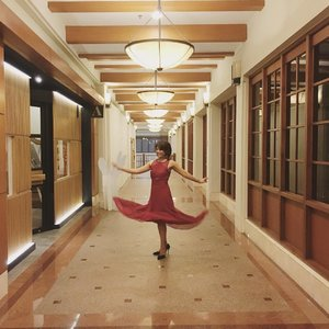 Keep moving  #clozetteid #ootd #longdress #reddress #fdbeauty #femaledaily #ootddress #beautydress #keepmoving #behappy