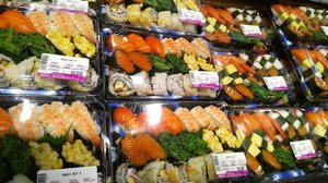 Sushi galore. 🍣🍤 #clozetteid #food #foodporn #sushi #sashimi #favorite