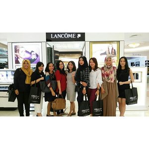 Session 1 participants Clozette Blogger Babes gathering with Lancome and @orlymiin Thanks for today @clozetteid #lancomerockyourlip and #orlymiin #clozetteid #beauty #bloggerbabes #bloggerbabesid #bloggerlife #starclozetter