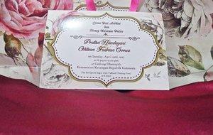 Ngga bisa datang buat ketemu cpw @tiwihandayanim dan cewe-cewe cantik lainnya, ihiks. Tapiii, bahannya sampai dengan selamat untuk dijahit dan dipakai di 23 April 2017 nanti. Can't wait dear! 😘😍 #clozetteid #starclozetter #bridemaids #bridesmaids #girlfriend #friendship #hijupbeautycamp #alumni
