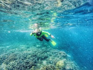Pisces 🐟🐟🐟. #clozetteid #clozetteambassador #gopro #goprohero4 #underwater #pulaubuton #exploreindonesia #travelblogger #bloggers #beach #butontengah #sulawesitenggara