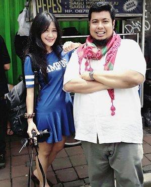 Kenyang kulineran di Bogor 😋 #kelanarasa #kuliner #Bogor #culinary #wefie #pepessagu #kelanarasatranstv #gangaut #ootd #ootdindo #blue #dress #shirtdress #fashion #lifestyle #clozetteID #clozetteambassador
