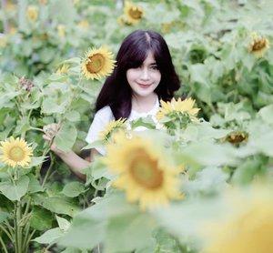 2019, secerah ituuu 😊 ada aamiin?Happy New year! 🎊🎉 Bismillah 🙏.#happynewyear #happynewyear2019 #selamattahunbaru #goodbye2018 #clozetteid #bungamatahari #sunflower