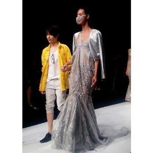 Tex Saverio on Jakarta Fashion Week #JFW2015  #TexSaverio #fashionweek #fashiondesigner #model #readytowear #gown #clozetteID @clozetteID