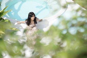 Can you see me?~ . #canggu #Bali #swimmingpool #pool #hotel #alternativebeach #travel #traveling #trip #photooftheday #pictureoftheday #clozetteid