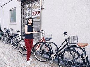 Holiday mood 🚲🚲 #explorejapan #tokyo #vacation #letstraveltiff #boxynotes #clozetteid