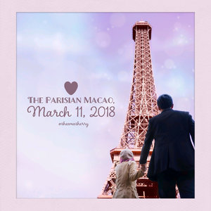 The Parisian Macao was opened in 2016, so it's still quite new and still not as crowded as The Venetian Macao. It has a half-scale 525-foot Eiffel Tower as a landmark, in which people can take a lift to go to the top of it (we did too). There's a free shuttle bus from Macao Ferry Terminal to go there, but have to pay HKD 100 to go to its Eiffel Tower area. Since it's a large area consisting of Luxurious hotel, shopping area, and casino, we only walked around the shopping area since it's a one-day-only visit. The design is well, parisian? I don't know I don't really understand, haha. But some caucassian people (not sure if they're from Paris or not) were found in nice classic parisian costumes. Some of them just casually walking down the corridors, some of them dancing, and singing. Not many things to see or shop actually, but yeah it's beautifully built and since it's free to go there (unless you want to go experience the Eiffel Tower thing), I think it's fine to stop by there if you visit Macao someday. . I'll post photos of what I've seen from the 37th floor or its Eiffel tower later, in shaaallah. #TheParisianMacao