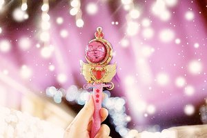 Moon Princess Halation... Please? 💖🌙 #sheemasherrysailormoon #cutiemoonrod....#SailorMoon#creerbeaute#PrettyGuardianSailorMoon#SailorMoonCollection#SailorMoonCollectibles#UsagiTsukino#PrincessSerenity#sailormoonhk#komunitassailormoonindonesia