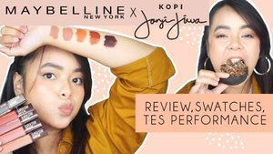 ON MY YOUTUBE CHANNEL!!Wah gila sih pecinta kopi wajib banget coba ini, SUPER STAY MATTE INK @MAYBELLINE x @KOPIJANJIJIWA 😍🤎Review + Swatches udah up di Youtube aku ya, klik link di bio!#SuperstayCoffeeLaunch #MaybellinexJanjiJiwa #CoffeeOnYourLips #MaybellineIndonesia#clozetteid