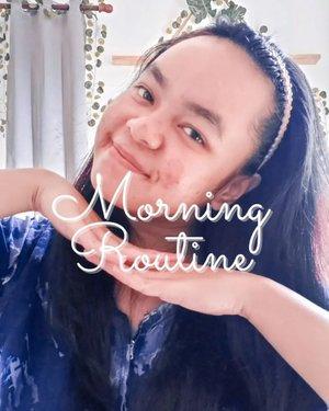 Good Morning!Anggep aja ini postingnya dari jam 7 lah ya hahahah maklum kan butuh waktu dikit buat edit 🤓Ini skincare routine aku dari beberapa hari lalu, sama aja pagi sama malam.Toner : @airnderm Ampoule + moisturizer : @somethincofficial Serum : @scarlett_whitening Ada yang pernah atau lagi pakai skincare ini juga? Share dong di komen 😆#morningroutine #skincarelokal #skincareroutine #clozetteid #tuesdaymood