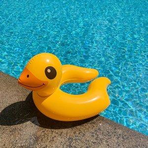 Calling for Summer 🌵🌞...#shotoniphone #swim #pool #exploretocreate #sunny #bright #clozetteid #style #summertime