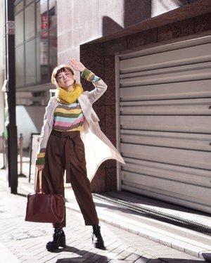 Braving the autumn breeze 🍂 . . . . . . . . . . .  #셀스타그램 #팔로우 #오오티디 #패션 #데일리 #일상 #데일리 #whatiwore #tampilcantik #lookbook #ootdmagazine #exploretocreate #stylehaulfam #clozetteid #lookbookindonesia #collabwithstevie #styleinspo #style #pursuitofportraits #streetstyle #steviewears