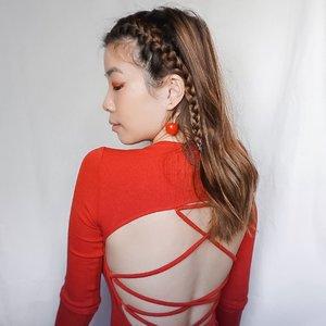 Cherry 🍒 // Accessories by @miragejewelry.co 🇸🇬 •  . . . . . . . . . . #pomelogirls #pomelogirlsathome #styleinspiration #smile #joy #fashion #whatiwore #fashionpeople #steviewears #clozetteid #exploretocreate #sonyforher #style #zalorastyleedit #collabwithstevie #love #makeup