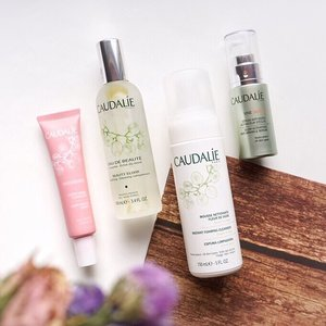 Do you know that all Caudalie products contains orgain grape extract that are being extracted from their own homegrown vineyards 🍇🍷? With the antioxidants factors of grapes all @caudalie products are natural and is believed to be able to help maintain the youthfulness and healthiness of ones skin! My personal fav is the beauty elixir ❤️ will share my mini review on it soon!! ...-Now @caudalie is available at all @sephoraidn stores🇮🇩 ..#caudalie #sephoraid #sephoraidxcaudalie #steviexsephoraidn
