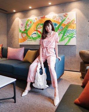 Some days I like everything pink �� tie dye set by @vosshop . . . - 📸 @priscaangelina . . . . . . .  . . . . . . #photooftheday #ootdfashion #explore #wiwt #ootdmagazine #ootdsubmit #style #lookbook #lookbooknu #ootdinspiration #wearlocal #fashionblogger #stylefashion #streetinspiration #potd #zalorastyleedit #steviewears #clozetteid #pink #color
