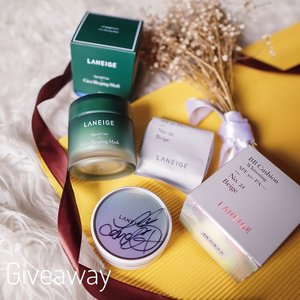 [ FLASH LATE BIRTHDAY #GIVEAWAY collaboration with one of my fav Kbeauty ft. @laneigeid🤍🎁🎉] Swipe for the gifts ⬇️ FOLLOW THE SIMPLE RULES BELOW. ..RULES1. MUST follow @steviiewong @laneigeid2. Comment WHICH team are you (#TeamSkincare / #TeamMakeup ) is your pick ✨ dan juga kalian tinggal di kota apa 🥰 ( eg: #TeamSkincare Jakarta ) Tag 3 friends. Jangan lupa spam love di page aku dan @laneigeid y🤩 4. Share the gift picture of your choice on your story, tag me & @laneigeid use #SWbirthdaygiveaway.Boleh share post dan ikutan lebih dari sekali ! P.s Hop over to @laneigeid comment (I 💙 Laneige) so they know you went because of me. GIFTS 🎁 Team Skincare Cica Sleeping Mask , Team Makeup BB cushion whitening no.21 beige with special one of a kind LEE SUNG KYUNG Signature on it (calling to all Lee Sung Kyung & Weightlifting Fairy Kim Bok-joo fans, here is your golden chance ❤️ // swipe to the end to see if it's her very own signature 🥰 ..GOOD LUCK LOVES!#flashgiveaway There will be 2 winners each will win their desired gift. Giveaway open till Good Friday 10 April 2020, Winners will be announced on Easter 12 April 2020 on this post and my story on 6 pm😉 // Indonesian 🇮🇩 residents only .....#dailygiveaway #giveawayindo #indogiveaway #giveawayid #giveawaycontest #giveaway #giveaways #giveawayindonesia #birthdaygiveaway #clozetteid #collabwithstevie #style #laneigeid #shotbystevie