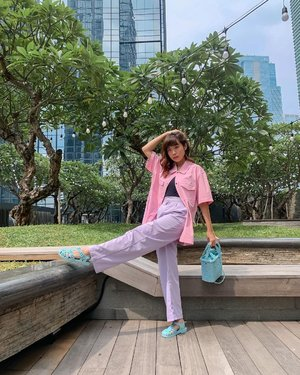 "SUNNY and BRIGHT ✨ ""Motivation is what gets you started. Habit is what keeps you going.""  . . 📸 @priscaangelina  . . . . . . #photooftheday #ootdfashion #explore #wiwt #ootdmagazine #ootdsubmit #style #lookbook #ootdinspiration #love #pink #fashionblogger #stylefashion #ootd #streetinspiration #potd #melissagirlsclub #zalorastyleedit #clozetteid #shotoniphone"