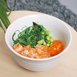 Craving for some #pokebowl 🍃💛 . . . #stevieculinaryjournal #ggrep #shotbystevie #foodie #lykeambassador