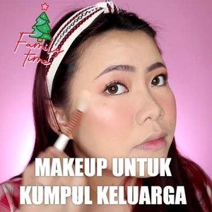 Udah mau liburan akhir tahun nih... Pada kemana ? Hehehhee Aku sih kalo kumpul keluarga makeup nya tebel covernya tapi lain nya natural wkwk soalnya males di bacotin : makeup mulu sihhh makanya jerawatan tuh 🤭😌🤔 Au amat dah 🤣 . Produk yg dipake : • Moisturizer Easy Peasy, Keep Cool Soothing Mist, Merzy Liptint @hicharis_official • Foundation & CC primer green @flormarindonesia • Concealer @getthelookid • Bedak @maybelline • Eyeshadow @celefit_official • Eyeliner Coklat @australiscosmetics_id • Mascara @oriflame • Blush @missha.id • Highlighter @byscosmetics_id . . . . 🎥Camera Canon EOS M100 🎛️Edit with @vivavideoapp Pro 🎶 . . . . . . #makeupoftheday #tutorialmakeup #Tutorialdandan #makeuptutorial #tutorialmakeup #indobeautygram #makeupoftheday #beautybloggerindonesia #motd #popbelabeauty #flovivi #ClozetteID #cchannelid #cchannelbeautyid @tampilcantik @tips__kecantikan @tutorialmakeup_id @ragam_cantik @meriaswajah @syantiktutorial @ragam_kecantikan @zonacantikwanita