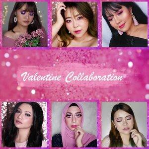 Hello Guys ! Untuk menyambut hari Valentine, aku dan 5 temen temen beauty creator lain nya COLLAB bareng bikin video tutorial Valentine 💕 Kita ada share tips tips juga loh buat kalian ! Nanti sore jam 6 bakalan di upload tutorial nya nih. Stay tune ya 💕 . Oh iya, jangan lupa mampir ke postingan temen temen ku yg lain & support like and comment ya ! @makeupinhan @christin_bun @djazminee @flovivi @lullshey @bycleoputri . . #valentinemakeup #valentinesday #makeupvalentine #valentine2019 #makeup #makeuptutorial  #wakeupandmakeup #tutorialmakeup #flovivi #makeupvideo #inspirasicantikmu #muajakarta #makeupoftheday #makeupforbarbies #mua  #100daysofmakeup #slave2beauty #allmodernmakeup #beautybloggerindonesia #tampilcantik  #clozetteID #ivgbeauty #bunnyneedsmakeup