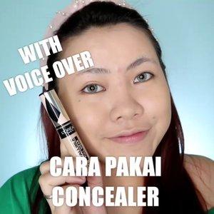 Cus buat yg belom tau cara pakai Concealer ❤️ . . . . 🎥Camera Canon EOS M100 🎛️Edit with @vivavideoapp Pro . . . . . . #makeupoftheday #tutorialmakeup #Tutorialdandan #makeuptutorial #tutorialmakeup #indobeautygram #makeupoftheday #beautybloggerindonesia #motd #popbelabeauty #flovivi #ClozetteID #cchannelid #cchannelbeautyid @tampilcantik @tips__kecantikan @tutorialmakeup_id @ragam_cantik @meriaswajah @syantiktutorial @ragam_kecantikan @zonacantikwanita