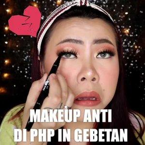 Hahaha makabya kita dandan yg cakeup biar ga di PHP in 🤪 Btw, ini pensil alis nya mutakhir banget! Sumpah! . Produk yg dipake : • @flormarindonesia CC Primer Green • @maybelline Fit Me Foundation 125 , Fit Me Loose Powder 10, Fit Me Compact Powder 130 • @getthelookid Concealer • @mizzucosmetics Eyeshadow • @f2f.cosmetics Eyebrow & Eyeliner • @brunbrun_paris Lip cream Dazzled . 🎥 @canon.indonesia EOS M100 🎛️ @vivavideoapp Pro 🎶Status Palsu - @vidialdiano . . #makeupoftheday #tutorialmakeup #Tutorialdandan #makeuptutorial #makeup #makeupmurah #tutorialmakeupplg #clozetteID #cchannelid #cchannelbeautyid #flovivi #beautybloggerindonesia #indobeautysquad #indobeautygram #ragamkecantikan #tipskecantikan