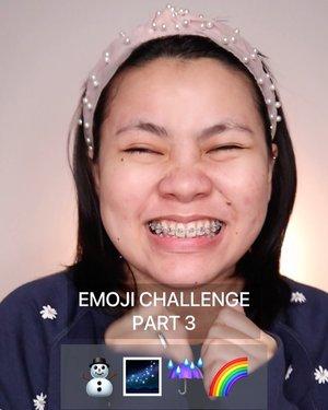 Maaf lama banget baru tayang ini MAKEUP EMOJI PART 3 ⛄️🌌☔️🌈 . . Follow @flovivi for more video like this 💡 . . . 🎥Camera Canon EOS M100 🎛️Edit with VN . . . . . . . #makeupoftheday #tutorialmakeup #Tutorialdandan #aesthetic #indobeautygram #makeupoftheday #beautybloggerindonesia #emoji #tiktokindonesia #tiktokchallenge #tiktok #flovivi #ClozetteID #cchannelid #cchannelbeautyid #cchannelmakeupid #undiscoveredmuas #makeupemojis #emojimakeupchallenge #emojimakeup #emojichallenge #aestheticmakeup  @tampilcantik @tips__kecantikan @tutorialmakeup_id @ragam_cantik @meriaswajah @syantiktutorial @ragam_kecantikan @zonacantikwanita