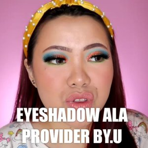 Hahaha jadi eyeshadow ku kemarenan itu terinspirasi dari packaging nya @byu.id 🤣 See? Apa aja bisa jadi inspirasi hehehe . Produk yg dipake : • @beautycreations.cosmetics Splash of Hues vol 1 from @ivabeaute.id • @catrice.cosmetics Camouflage Concealer Cream • @eclatpressedglitter Tropical • @australiscosmetics_id Eyeliner • @guiltypleasure.lashes Type Wisdom . . . . 🎥Camera Canon EOS M100 🎛️Edit with @vivavideoapp Pro 🎶All My Friends - Madeon . . . . . . #makeupoftheday #tutorialmakeup #Tutorialdandan #makeuptutorial #tutorialmakeup #indobeautygram #makeupoftheday #beautybloggerindonesia #motd #popbelabeauty #flovivi #ClozetteID #cchannelid #cchannelbeautyid