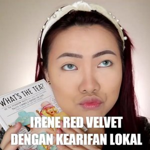 Wkwk sebenernya tdnya ga mau meap gini eh tb tb melenceng aja wkwk trs keinget kok mirip makehp nya Irene Red Velvet di MV Psycho bahaha . Produk yg dipake: • @naturerepublic.id Aloe Vera Soothing Gel • @makeoverid Powerstay Foundation N30 • @cnfstoreofficial Bellaoggi Feel Contour • @thebalmid What's the Tea Palette Ice Tea • @holikaholika_indonesia Glitter • @pinkberrybeauty Blush On • @wearewckd Eyeliner • @banilaco_id Velvet Tint RD02 • @luxcrime_id Eyebrow & Highlighter . . . . 🎥Camera Canon EOS M100 🎛️Edit with @vivavideoapp Pro 🎶Psycho - Red Velvet (koplo) . . . . . . . #makeupoftheday #tutorialmakeup #Tutorialdandan #makeuptutorial #tutorialmakeup #indobeautygram #makeupoftheday #beautybloggerindonesia #motd #popbelabeauty #flovivi #ClozetteID #cchannelid #cchannelbeautyid @tampilcantik @tips__kecantikan @tutorialmakeup_id @ragam_cantik @meriaswajah @syantiktutorial @ragam_kecantikan @zonacantikwanita